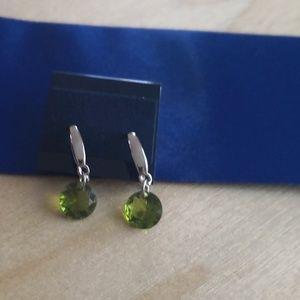 Earrings With Swarovski Crystal. New!